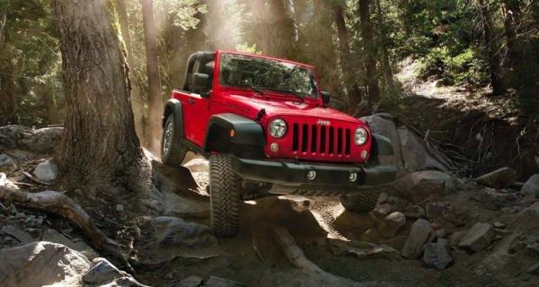 Jeep Wrangler angular front