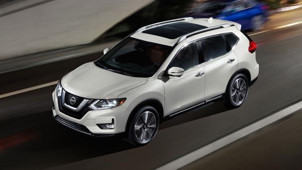 Nissan Rogue angular front