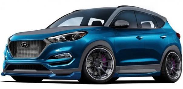 Hyundai Tucson Sport Concept angular front