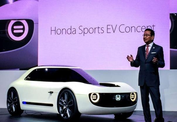 Honda Sport EV Concept at 2017 Tokyo Motor Show