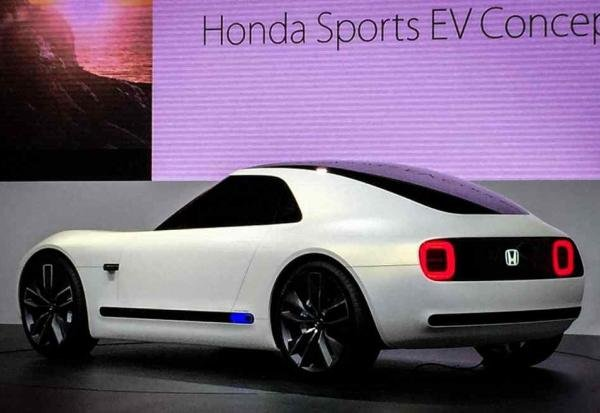 Honda Sport EV Concept angular rear