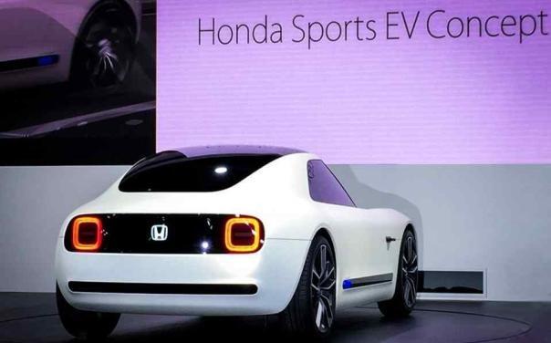 Honda Sport EV Concept rear view