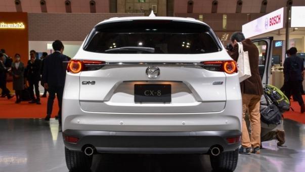 Mazda CX-8 2018 rear view