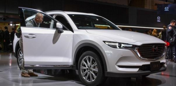 Mazda CX Exposed At Tokyo Motor Show - Tokyo car show 2018