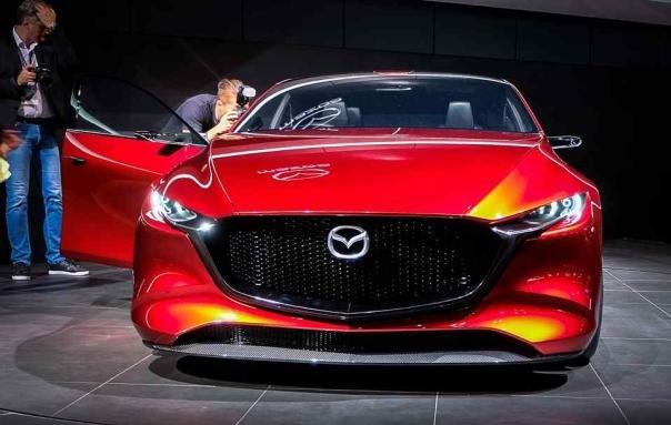 Mazda Kai Concept front view