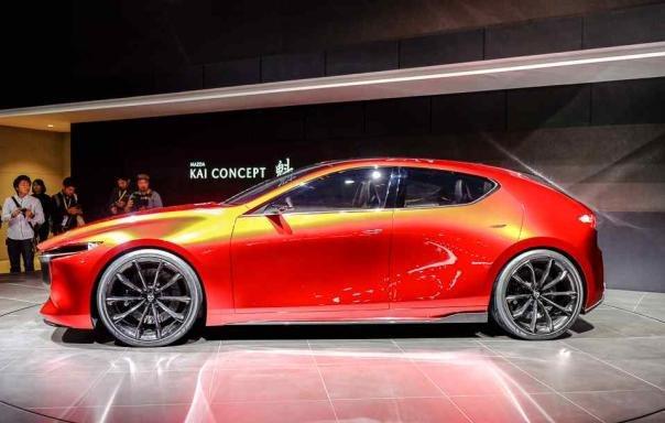 Mazda Kai Concept side view
