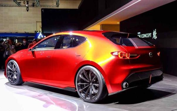 Mazda Kai Concept angular rear