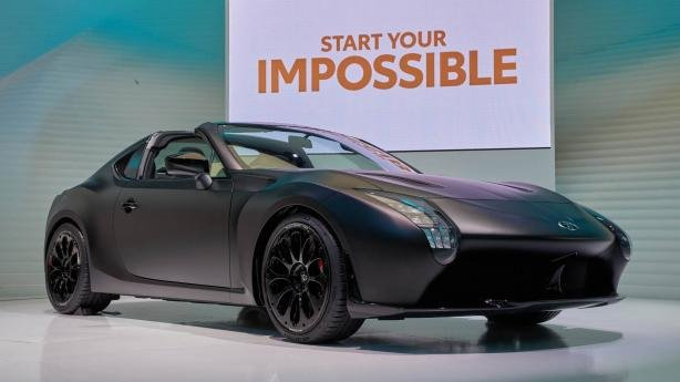Toyota GR HV Sports Concept angular front