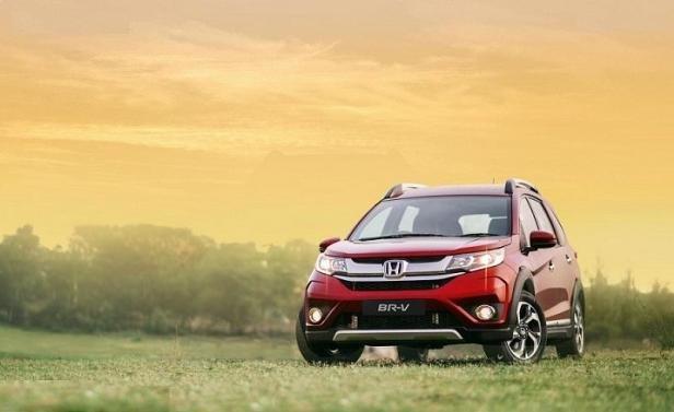 Honda BR-V angular front