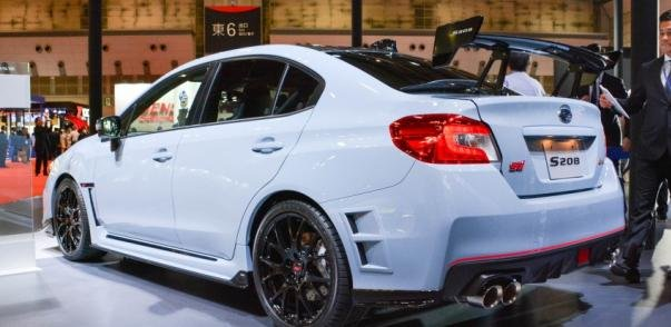 Subaru WRX STI S208 angular rear