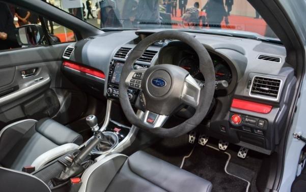 Subaru WRX STI S208 interior