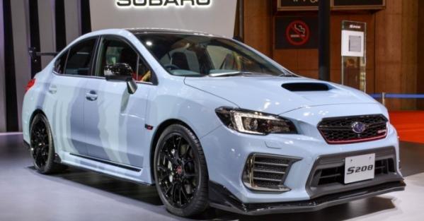 Subaru WRX STI S208 angular front