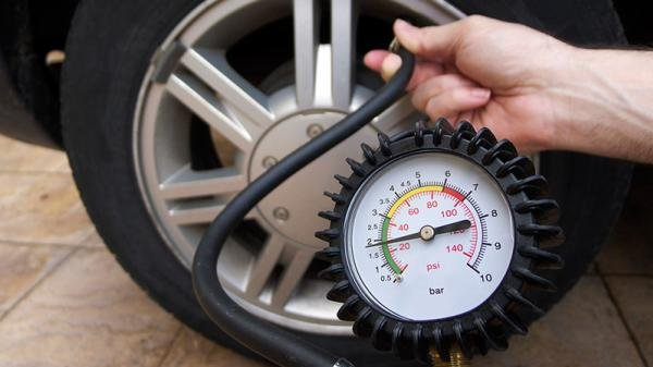 using a tire-pressure monitoring system