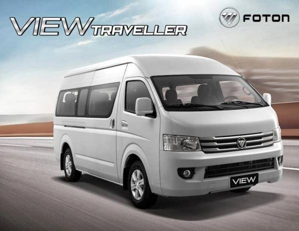 Foton View Traveller angular front