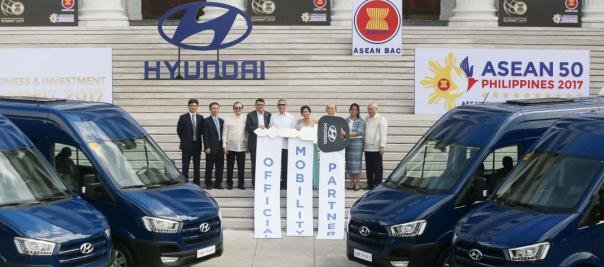 Hyundai becomes the official mobility partner for the ASEAN 50 and ABIS