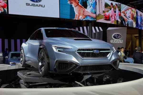 Angular front of a Subaru Viziv Performance Concept