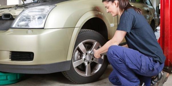 Replacing car tires