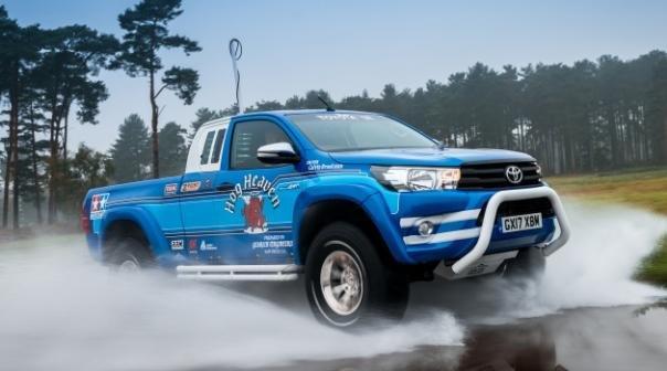 Toyota Hilux Bruiser angular front