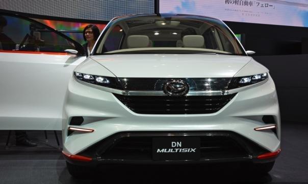 Daihatsu Multisix Concept front view