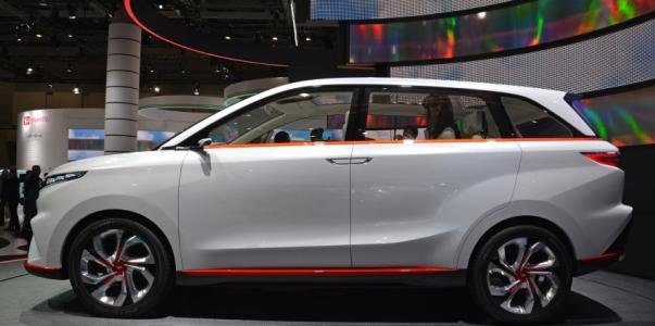 Daihatsu Multisix Concept side view