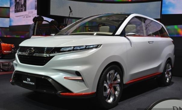 Daihatsu Multisix Concept angular front