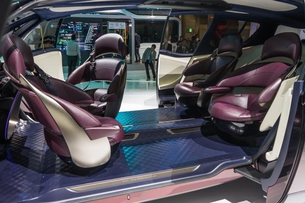 Interior of the Toyota Fine-Comfort Ride Concept