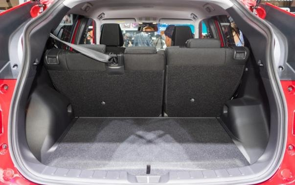 Mitsubishi Eclipse Cross luggage trunk