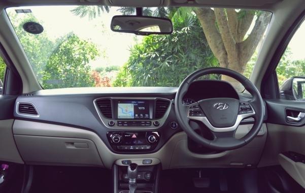 Hyundai Accent 2017 interior