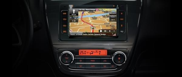 Mitsubishi Mirage 2018 touchscreen