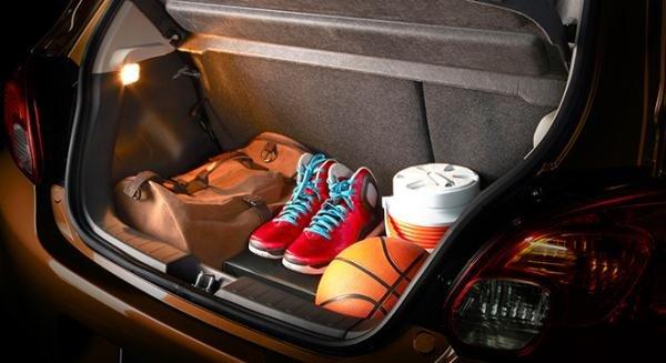 Mitsubishi Mirage 2018 luggage trunk