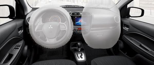 Mitsubishi Mirage 2018 airbags