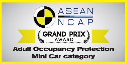 ASEAN NCAP Grand Prix Award for Adult Occupancy Protection
