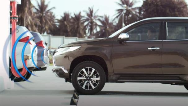 Forward Collision Mitigation (FCM) System of the Mitsubishi Montero 2018 GLS
