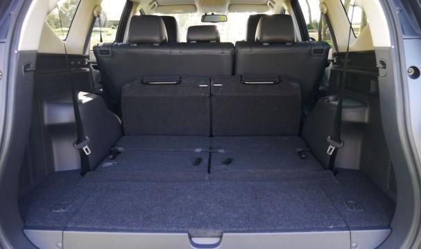 Mitsubishi Montero 2018 cargo space