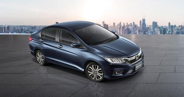 Honda City Angular Front