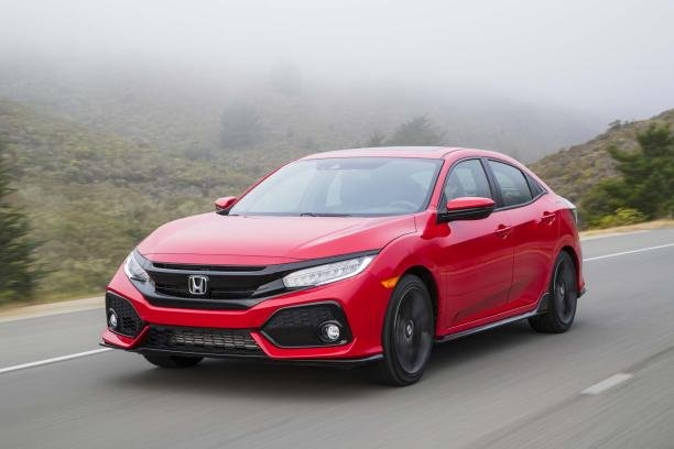 Honda Civic 2017 angular front