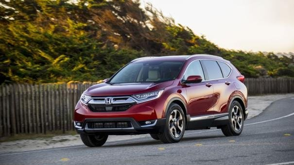 Honda CR-V 2017 on the road