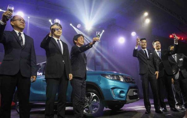 Suzuki PH officials at the Suzuki Vitara 2018 launch