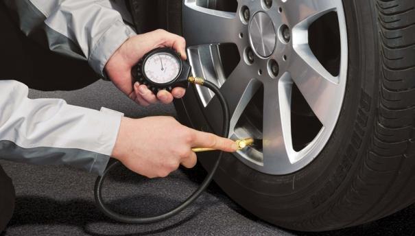 Checking car tires