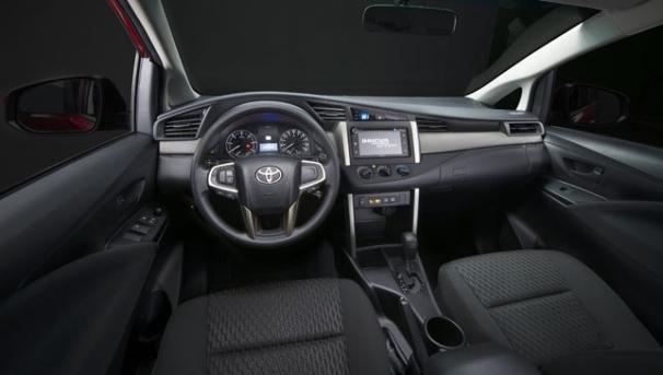 Interior of the Toyota Innova Touring Sport 2018