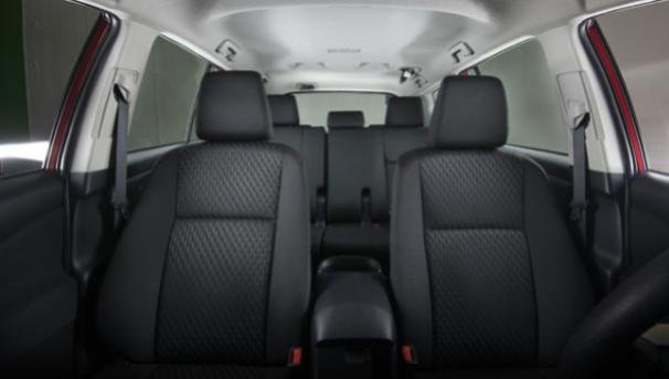 Seats of the Toyota Innova Touring Sport 2018