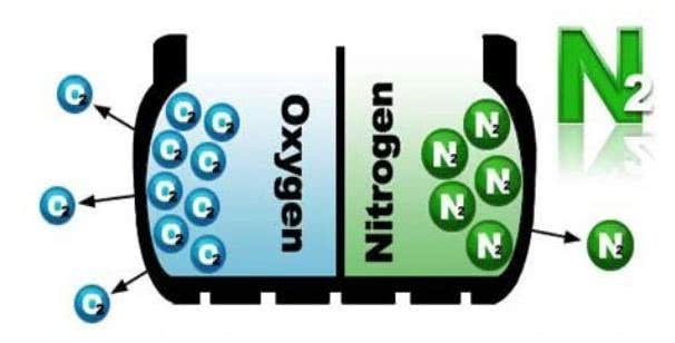 Nitrogen and Oxygen in tires
