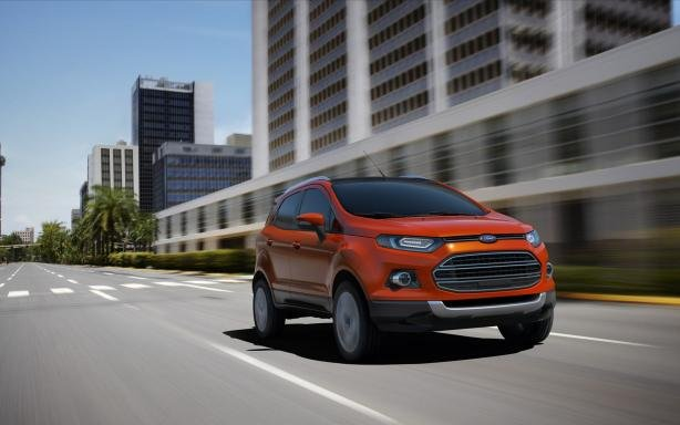 Ford EcoSport 2018 on the road