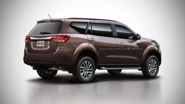 "Nissan ""pickup-based"" SUV rendering"