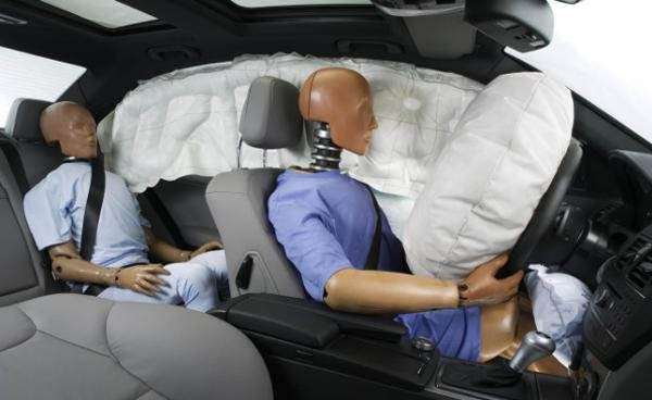 Dummies for using airbags