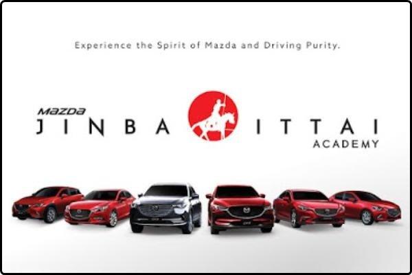 Mazda - Jinba Ittai academy banner