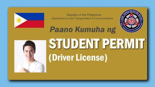 Student driver's license in the Philippines
