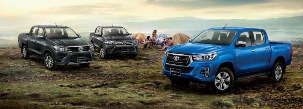 Toyota Hilux 2018 facelift models