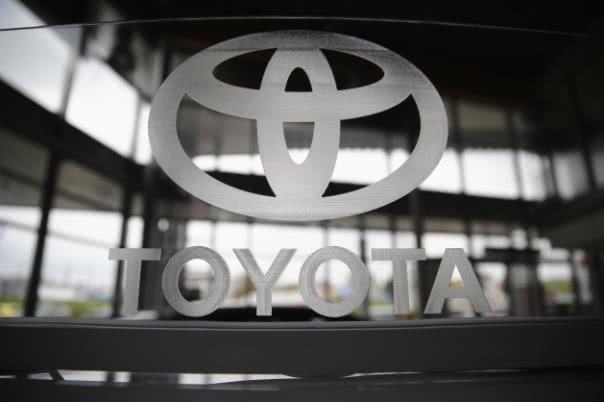 toyota logo badge