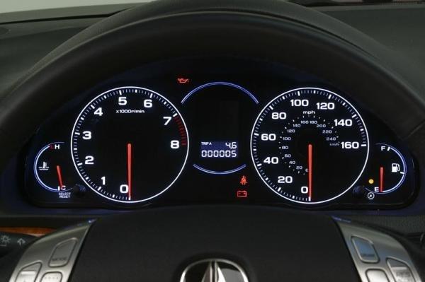 analog gauges in car